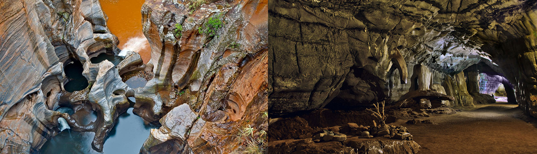 Sudwala caves & Bourke's potholes